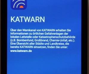 Landkreis Wesermarsch startet Mobilfunk-Warnsystem KATWARN