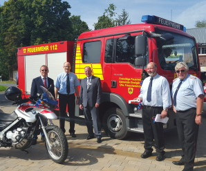 Neue Fahrzeuge für die Feuerwehr Frieschenmoor
