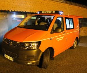 Moorbrandbekämpfung in Meppen