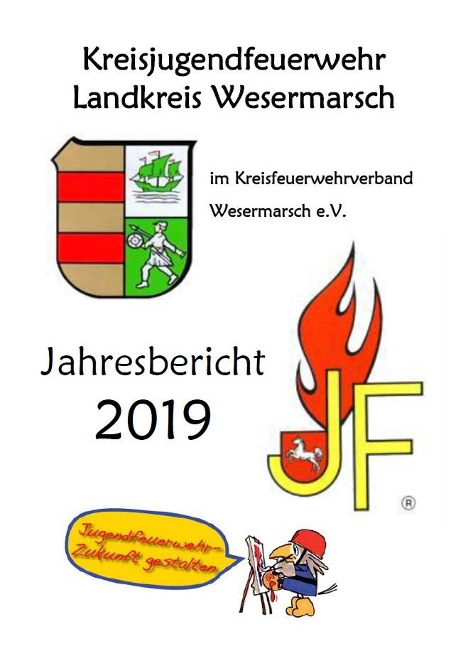 Deckblatt Jahresbericht KJF 2019